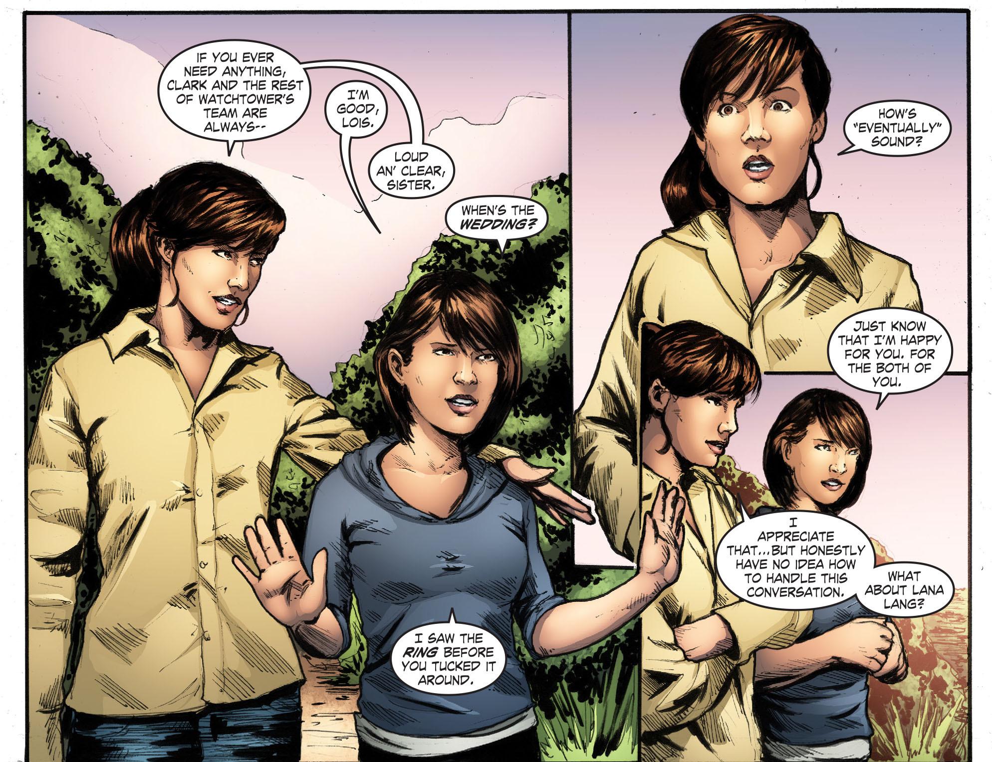 Read online Smallville: Season 11 comic -  Issue #50 - 21