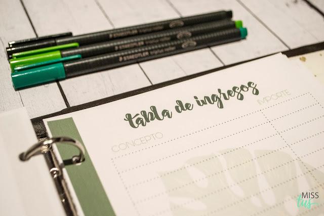Planning para ingresos