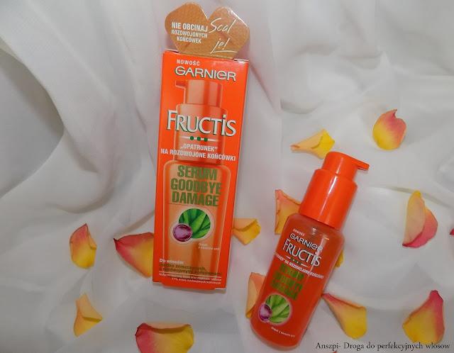 Serum na rozdwojone końcówki, Goodbye Damage, Garnier Fructis