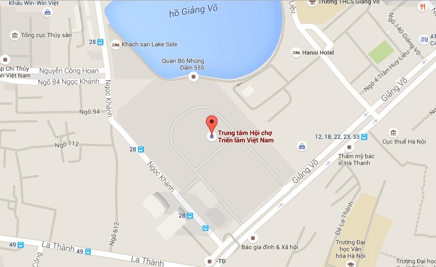 Vị trí tiện ích dự án chung cư 148 Giảng Võ Tân Hoàng Minh