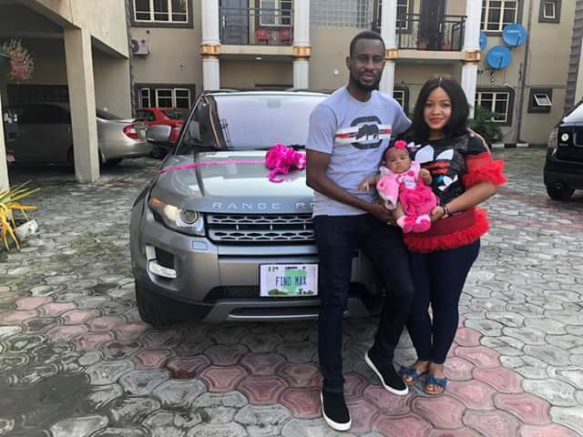 Nigerian man surprises wife with Range Rover, says she held on tight to him when he had nothing (photos)