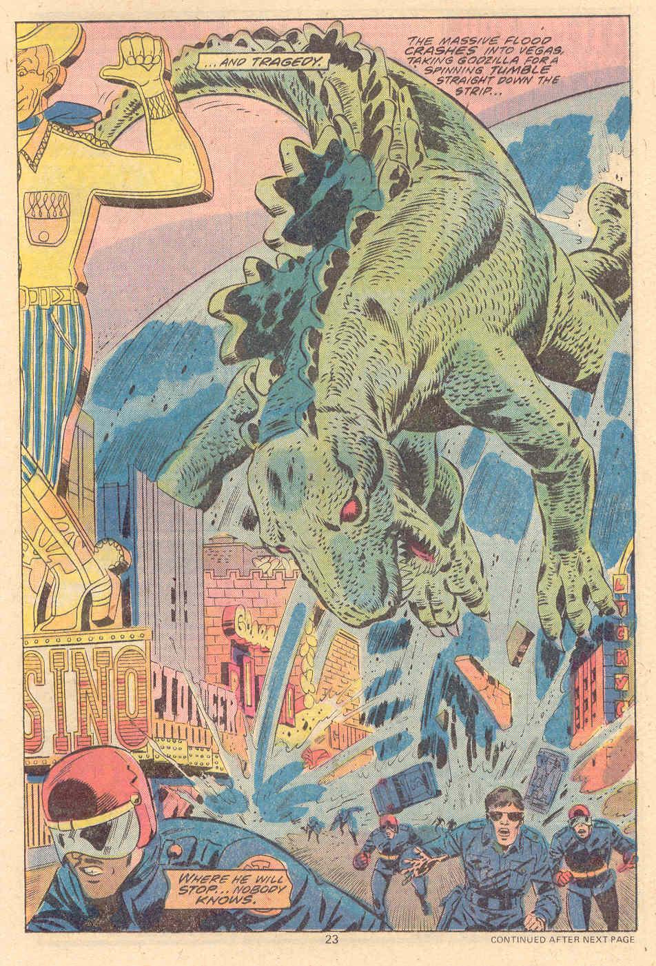 Godzilla (1977) Issue #9 #9 - English 14