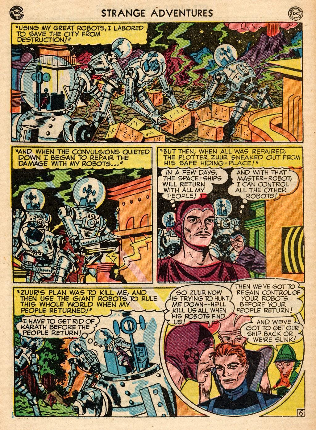 Strange Adventures (1950) issue 2 - Page 44