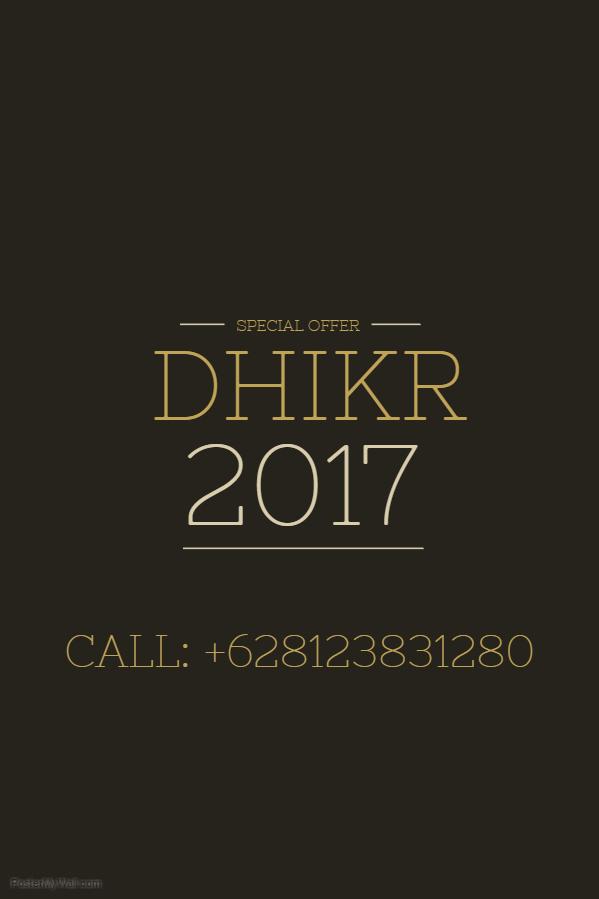 Kaos Dhikr 2017
