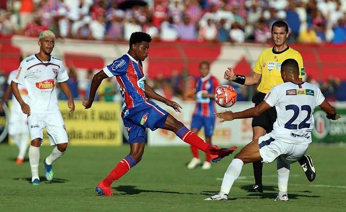 Bahia de Feira sai na frente, mas cede empate ao Esquadrão