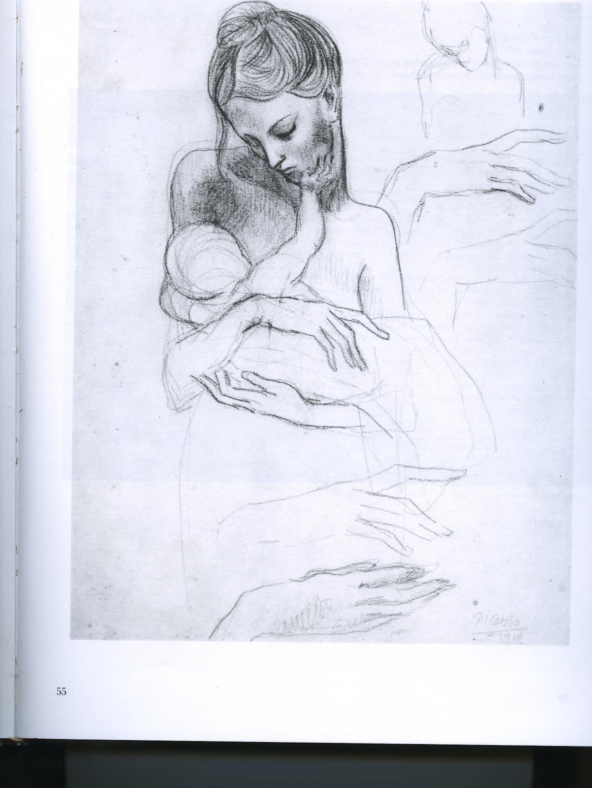 pablo picasso sketches - photo #5