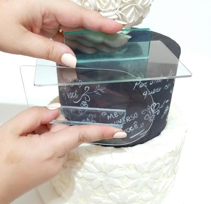 Como alisar seu bolo de forma fácil
