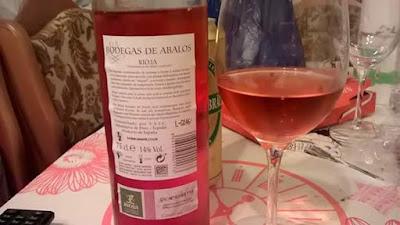 rosado, rioja, 14 grados, bodegas de Abalos