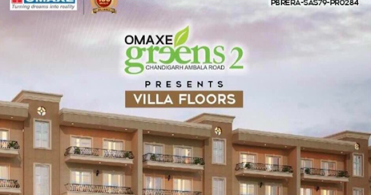 OMAXE Greens-2, Chandigarh-Ambala Road, VIlla Floors