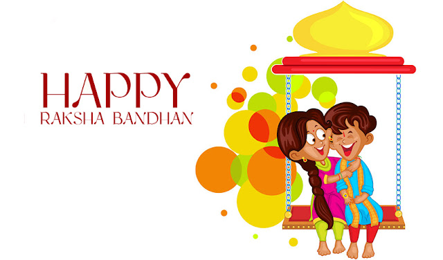 happy raksha bandhan hindi