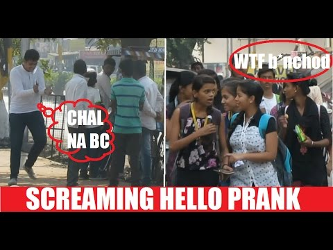 Screaming Prank in India by Banana People Comedy