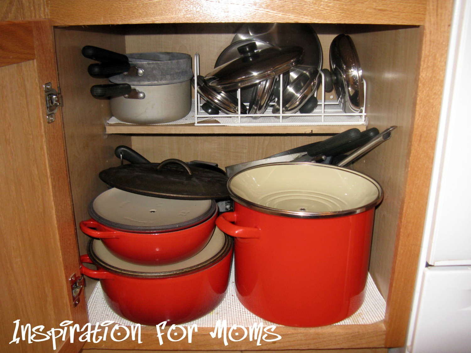 How To Arrange Pots And Pans In Kitchen Turquoise Rugs 21 Days A Clean Organized Home Day 20 Organizing