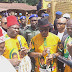 [PHOTOS]:  Governor Willie Obiano Flags Off 5.5km Road In Anambra