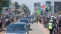 See how UHURU was received by Kakamega residents  thanks to his handshake with RAILA(PHOTOs).
