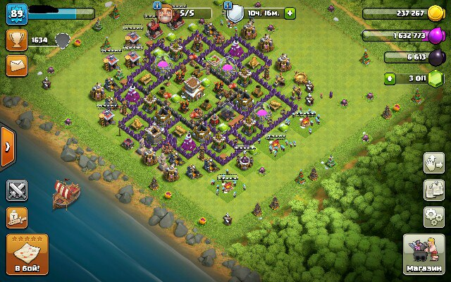 Como Construir Barco no Clash of Clans