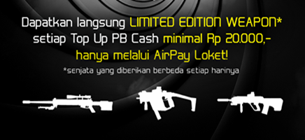 Event Spesial Top Up Airpay - Mission Possible