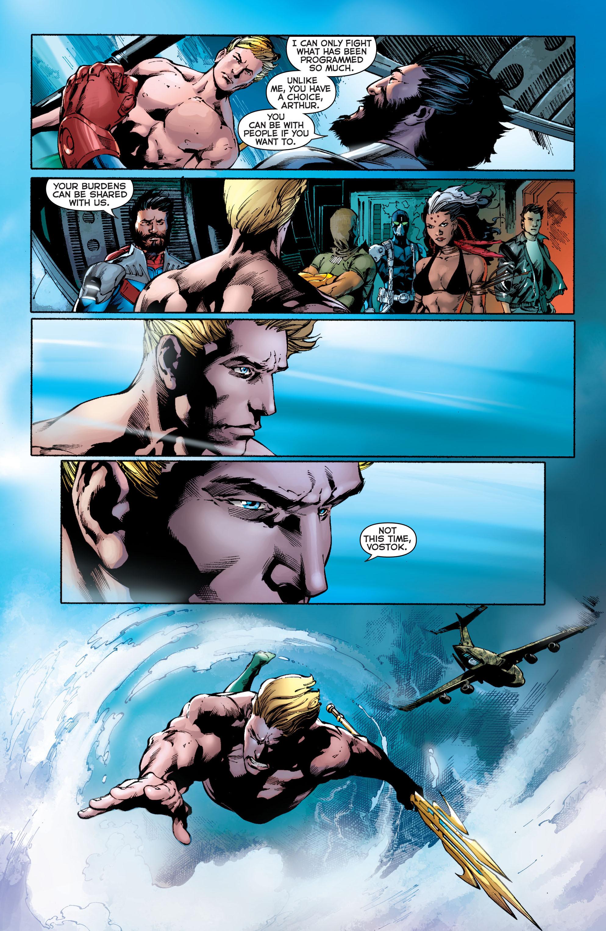 Read online Aquaman (2011) comic -  Issue #11 - 14