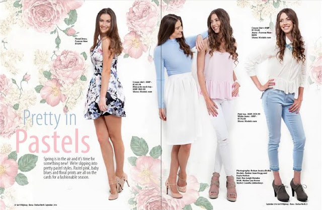 Fashion Editorial - Pretty in Pastel || Get It Magazine || Jane Wonder
