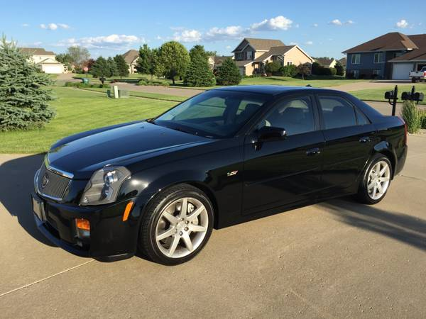 daily turismo fast at last 2004 cadillac cts v. Black Bedroom Furniture Sets. Home Design Ideas