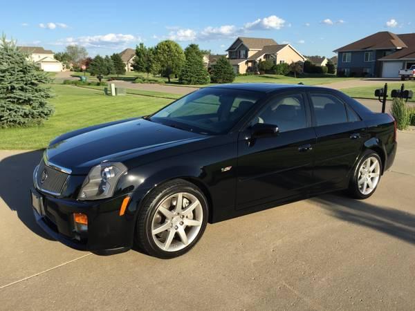 Daily Turismo: Fast at Last: 2004 Cadillac CTS-V