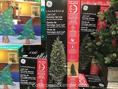 Start decorating your home for Christmas with the GE Just Cut Norway Spruce