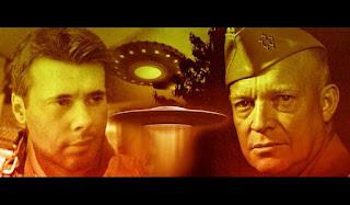 Stanford Mc Krause y el Comandante Supremo Eisenhower