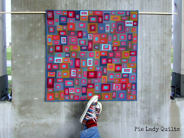 Inspiration blog post series - Quilt made by Jill Fisher - Pie Lady Quilts