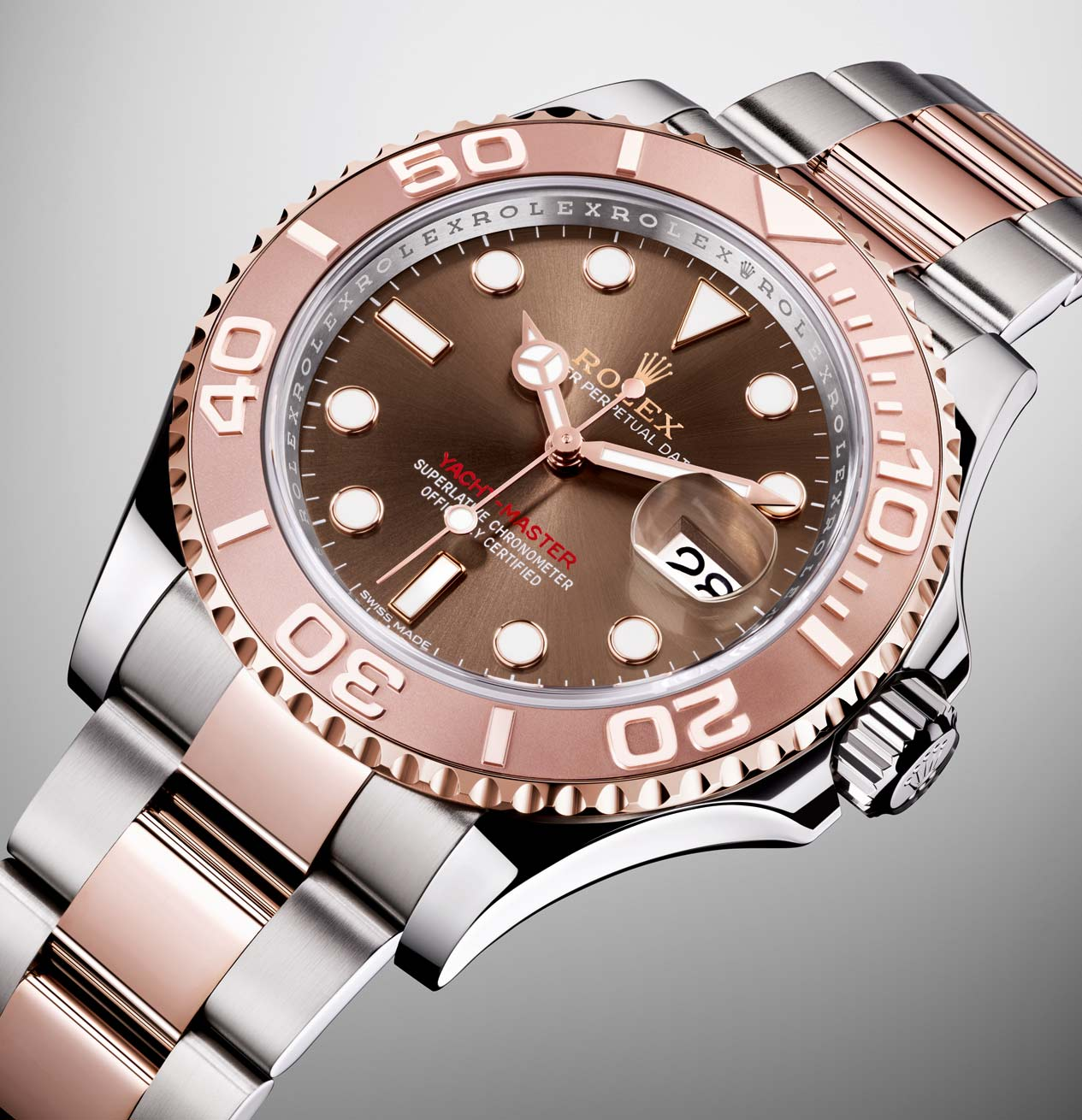 Rolex - Yacht-Master 40 in steel and Everose gold