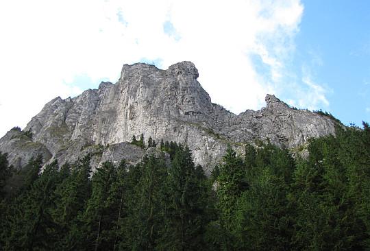 Południowa strona Raptawickiej Grani.