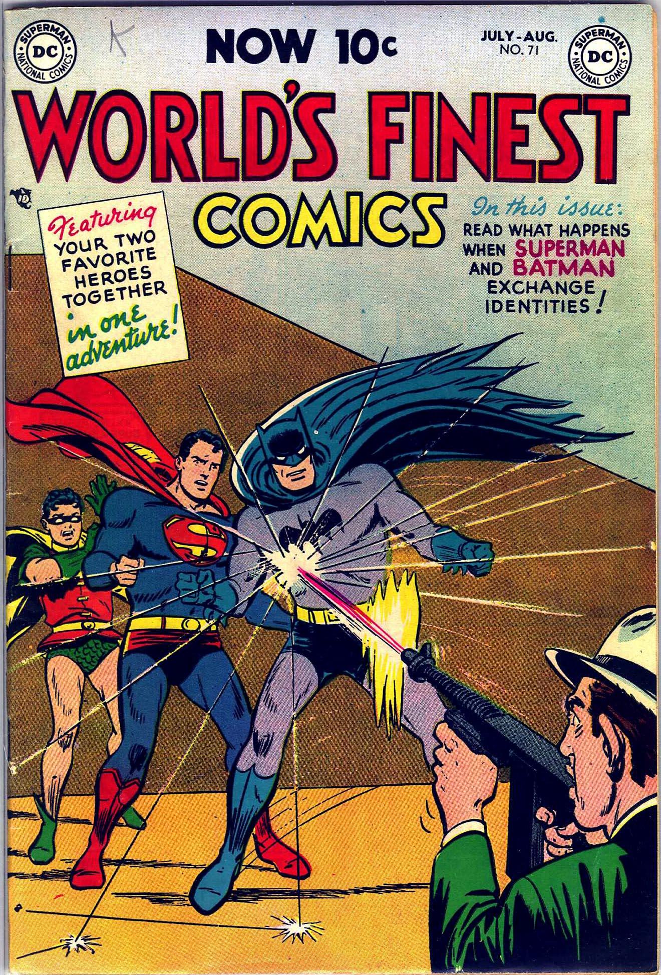 Read online World's Finest Comics comic -  Issue #71 - 2