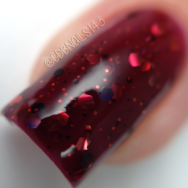 Sassy Pants Polish-Bloody Mary