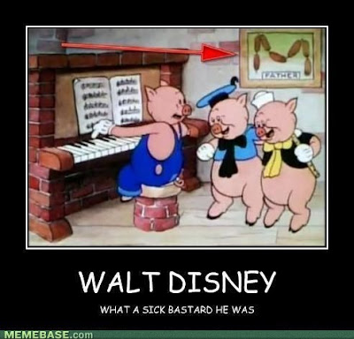 disney sick bastard pigs and sausages funny