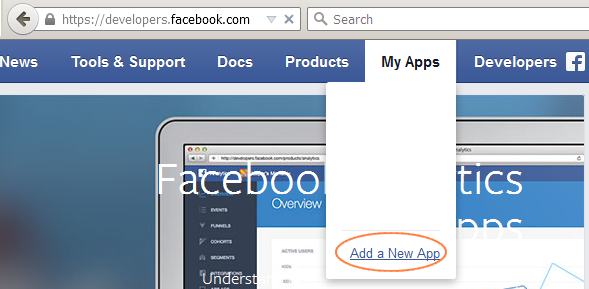 شرح عمل تطبيق على الفيسبوك