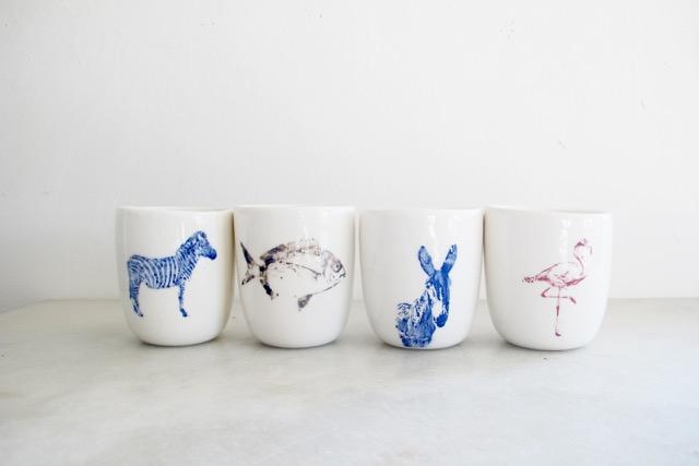 vasos de animales de Favorito studio