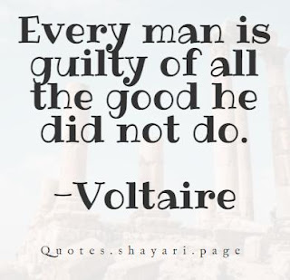 Voltaire Quotes-Every man Quote