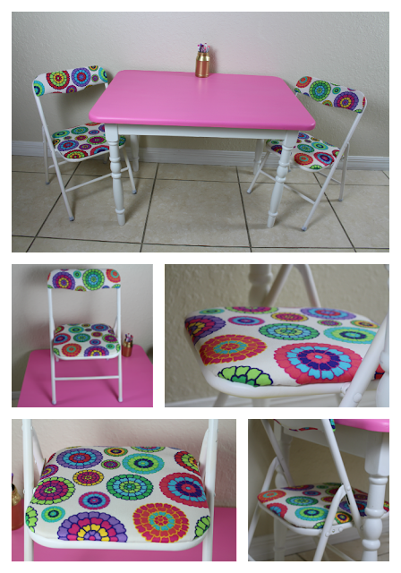 Child's chair makeover