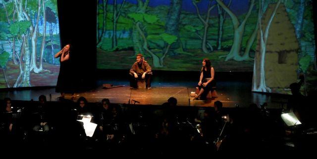 Ópera contemporánea huilliche se estrena en Chile