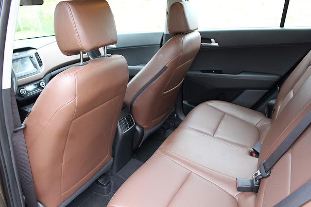 Hyundai Creta Prestige 2.0 Automático 2018 - espaço traseiro
