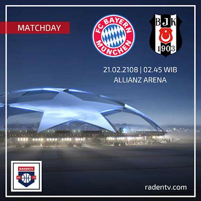 Bayern Munchen vs Besiktas