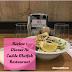 Review || Dinner at Cadde Mutfak Restaurant