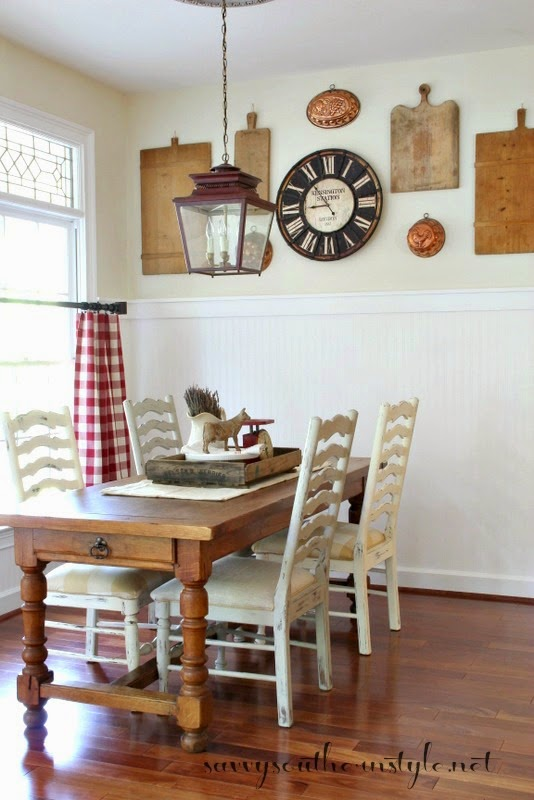 Savvy Southern Style Mismatched Chairs And A Farmhouse