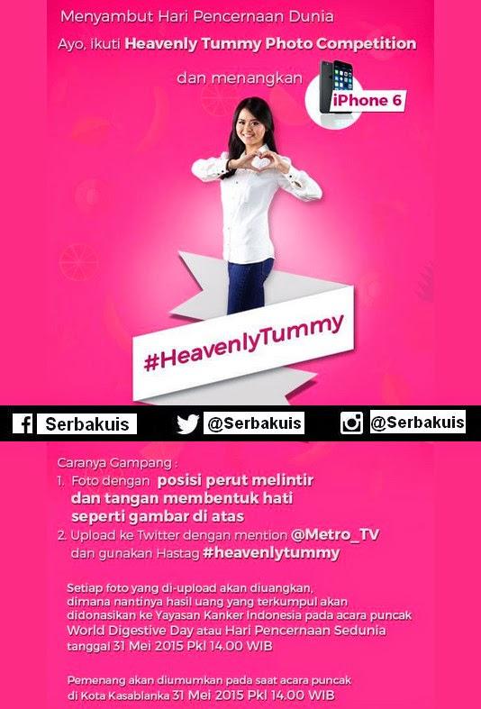 Heavenly Tummy Photo Competition Berhadiah iPhone 6