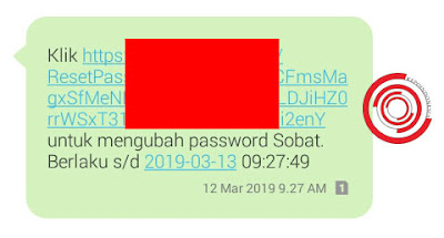 Cara reset password akun Ponta