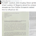 Supreme Court Justice, John Okoro writes to Chief Justice of Nigeria, accuses Amaechi of trying to bribe him