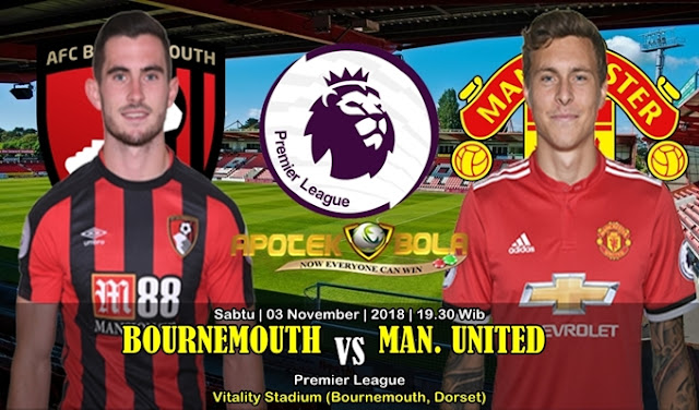 Prediksi Bournemouth VS Manchester United 3 November 2018