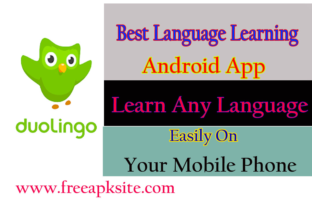 Best Language Learn App For Android - Duolingo: Free