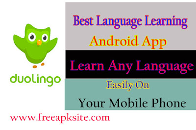 Best Language Learn App For Android - Duolingo Free Language Learning App