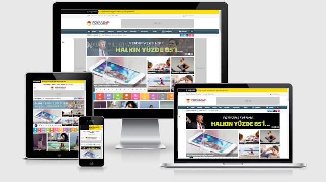 Poyraz WordPress Haber Teması