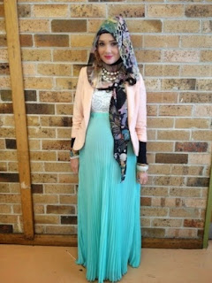 Inilah Contoh Baju Muslim Modis Untuk Bumil (Ibu Hamil)