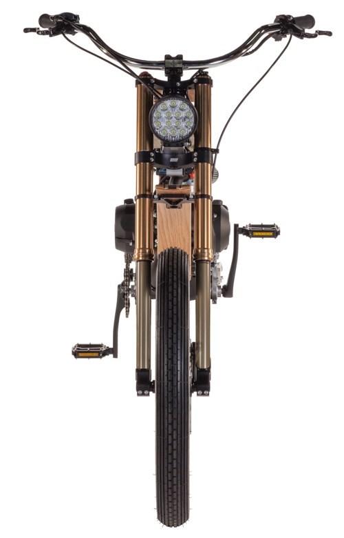 Motoped - Sepeda Custom All Terrain Bermesin ala Motor